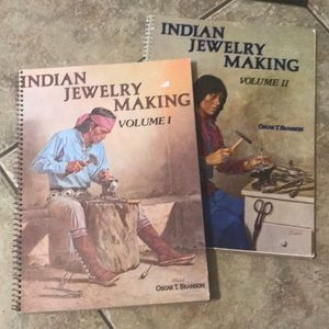Jewelry - Indian Jewelry Making Vol 1 & 2 Rare 1970s books